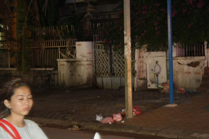 Cambodian Outdoor Urinal