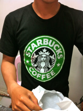 Cambodian Moments Starbucks t-shirt
