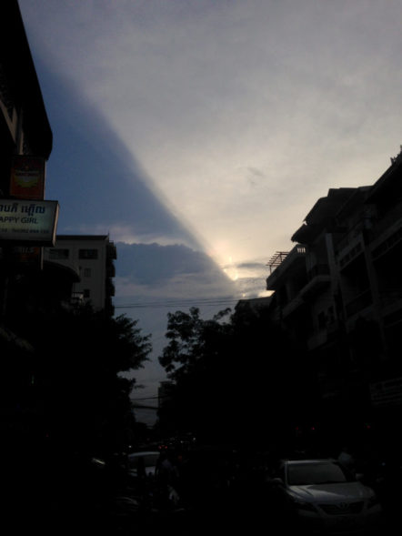 Phnom Penh Night Sky