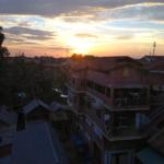 Sunset Phnom Penh, Cambodia.