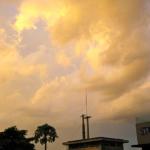 Max Parrish sky over Phnom Penh.