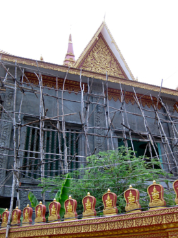 Cambodian Moments: Windows and Walls