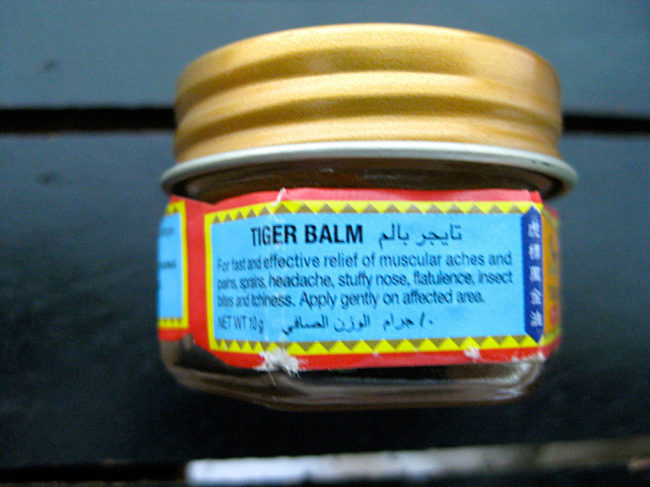Cambodian Moments Tiger Balm
