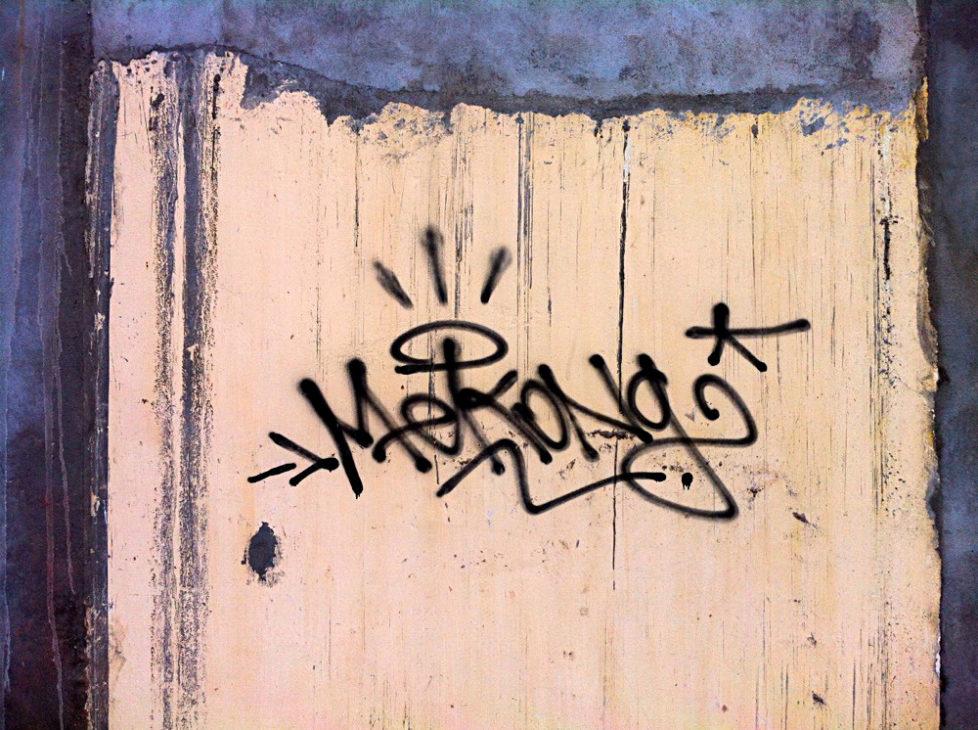 Cambodian Moments Graffiti Mekong