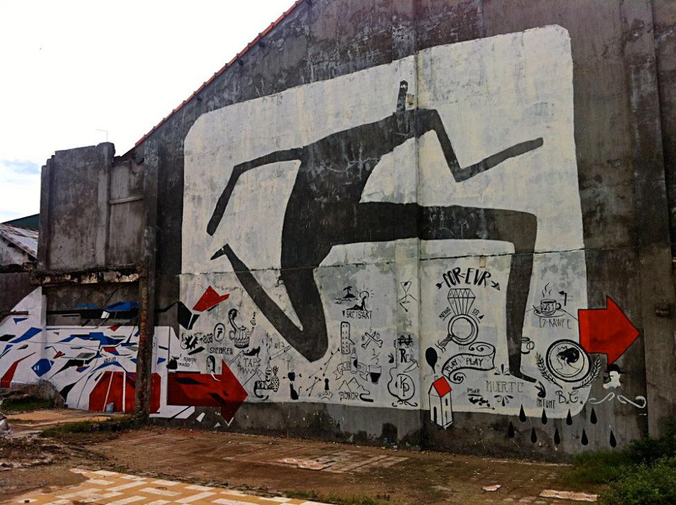 Cambodian Moments Graffiti Kampot