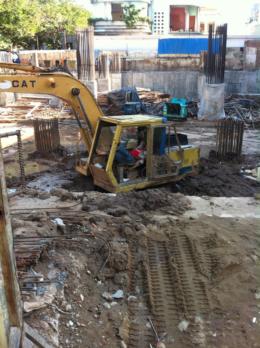 Sleeping At Work : Heavy Equipment