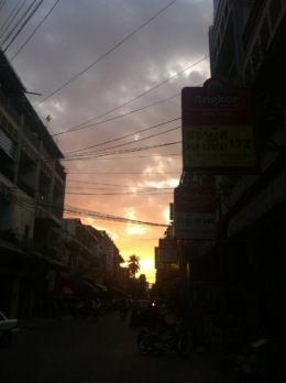 Phnom Penh Sunset