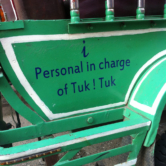 I personal in charge of Tuk! Tuk