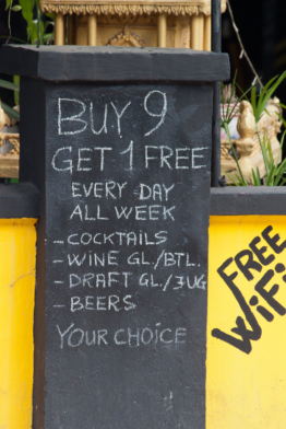 Cambodia drink offer