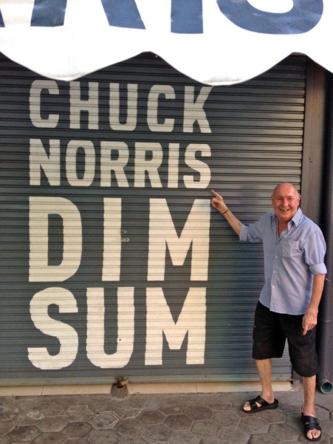 Chuck Norris Dim Sum Phnom Penh