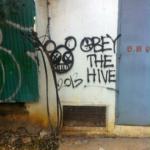 Phnom Penh Graffiti — Obey The Hive