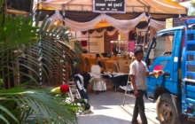 Pop Up Tents Cambodia, Weddings, Funerals and Blessings