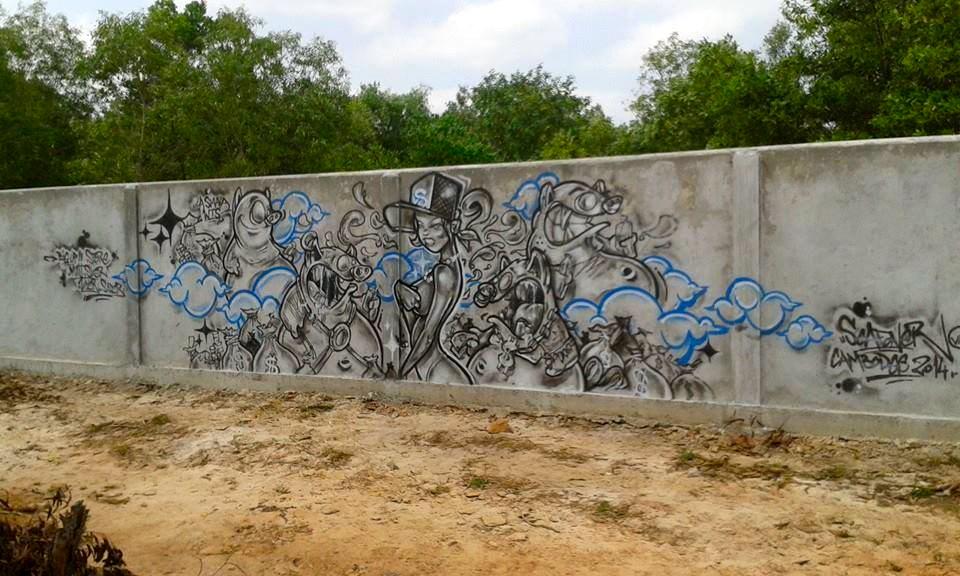 Graffiti, Sihanoukville, Cambodia