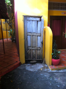Cambodian Moments-Funky Door