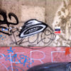 Graffiti—Flying Saucers in Phnom Penh