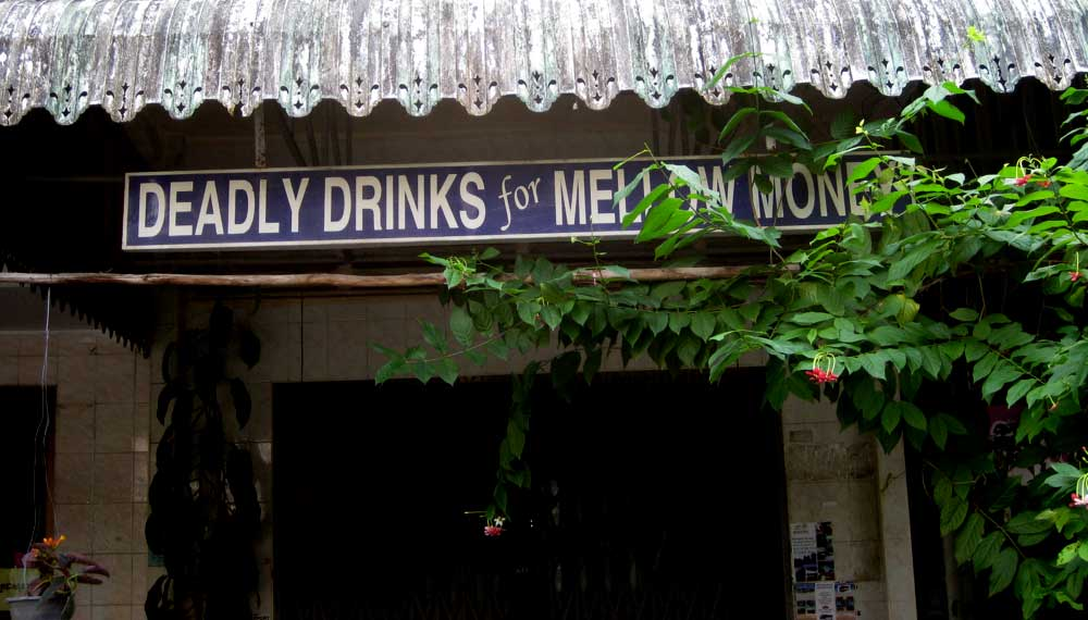Espresso K Deadly drinks—for melow money