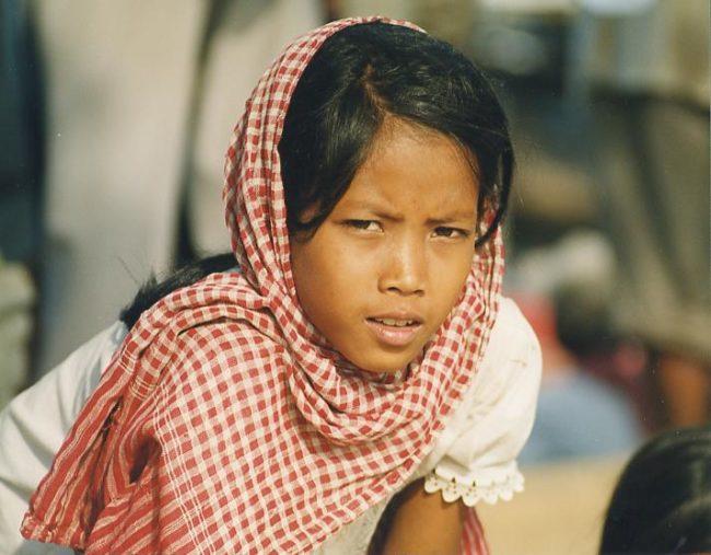 Khmer Girl Krama
