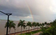 Rainbow on the Riverside Phnom Penh