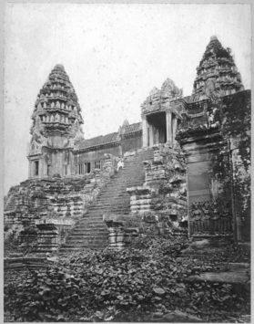 Angkor Wat Circa 1866 ~ Who