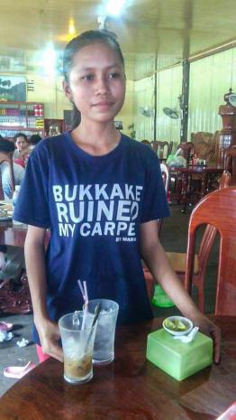 Bukkake ruined my carpet.