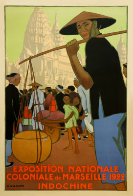 Vintage Poster Exposition Indochine 1922