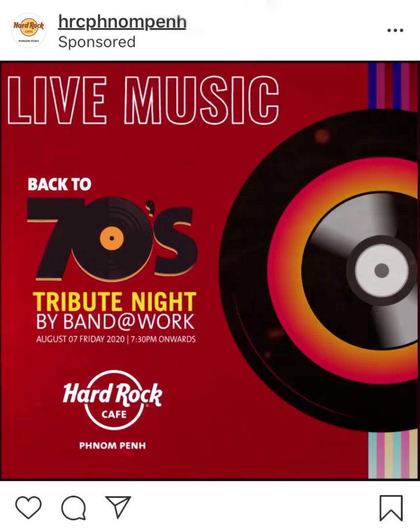 Hard Rock Cafe Phnom Penh Ad